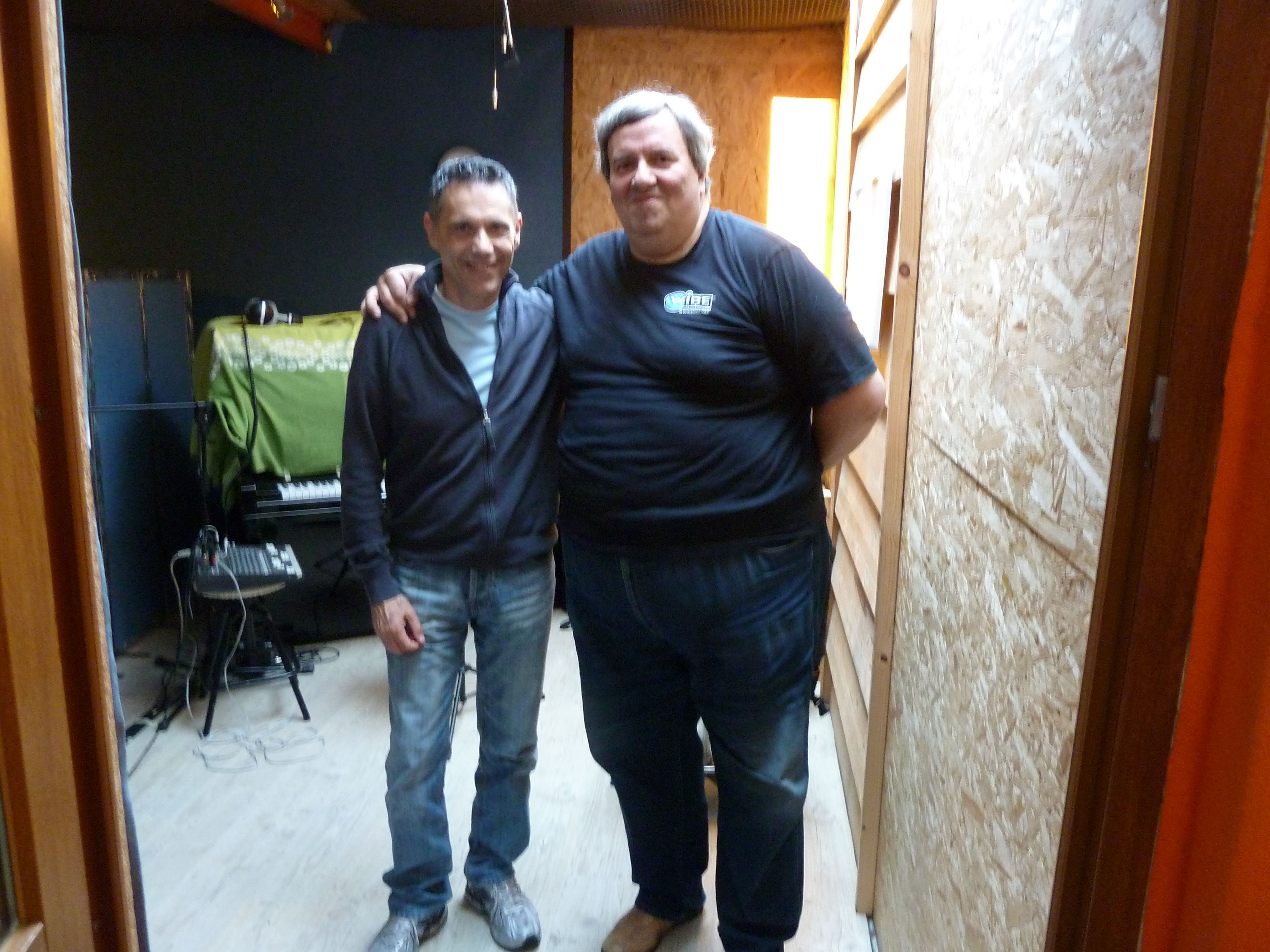 Con il mio amico Massimo Manzi